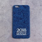 Чехол 2018 FIFA WORLD CUP RUSSIA, iPhone 6/6S Plus, матовое покрытие