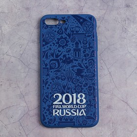Чехол FIFA WORLD CUP RUSSIAN 2018, iPhone 7/8 Plus, матовое покрытие