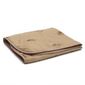 Одеяло АДЕЛЬ Эконом 105х140см, цв.МИКС, верблюд облегч. 150г/м, пэ100% Ош