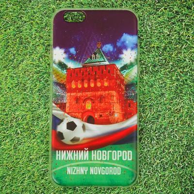 Чехол для телефона iPhone 6 «Нижний Новгород. Нижегородский кремль» - Фото 1