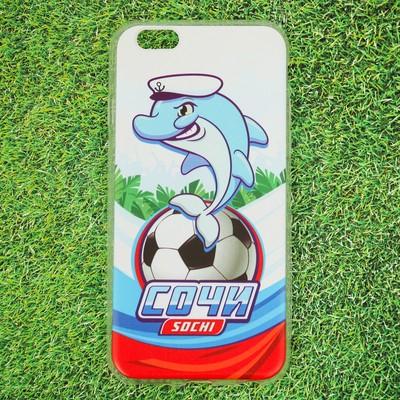 Чехол для телефона iPhone 6 «Сочи. Дельфин» - Фото 1