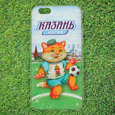 Чехол для телефона iPhone 6 «Казань. Кот» - Фото 1