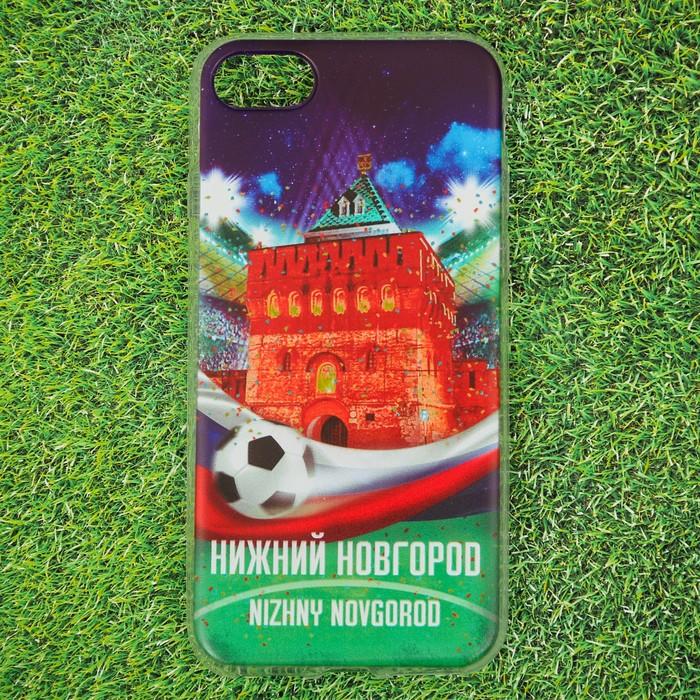 Чехол для телефона iPhone 7 Нижний Новгород. Нижегородский кремль