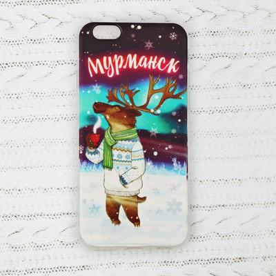 Чехол для телефона iPhone 6 «Мурманск. Олень» - Фото 1