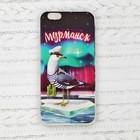 Чехол для телефона iPhone 6 «Мурманск. Чайка»