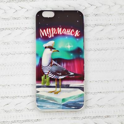 Чехол для телефона iPhone 6 «Мурманск. Чайка» - Фото 1