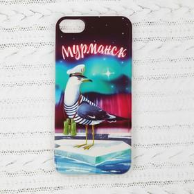 Чехол для телефона iPhone 7 «Мурманск. Чайка»