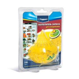 Гелевый поглотитель запаха Topperr для холодильников «Лимон»