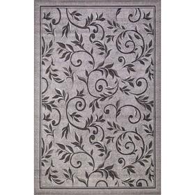 Ковёр прямоугольный Silver d230, размер 60 х 110 см, цвет light gray