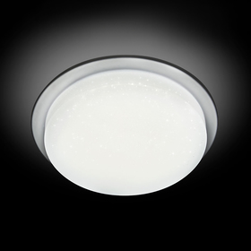 Светильник 'Светляк' 9Вт LED хром 12x12x5,5см Ош