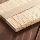 Палочки деревянные для мороженого, 48-50 шт, 11,5×1,1 см - Фото 2