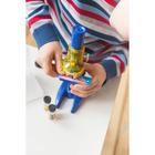 Микроскоп детский: 3 объектива, фокусировка, зеркальце - Фото 3