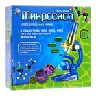 Микроскоп детский: 3 объектива, фокусировка, зеркальце - Фото 8