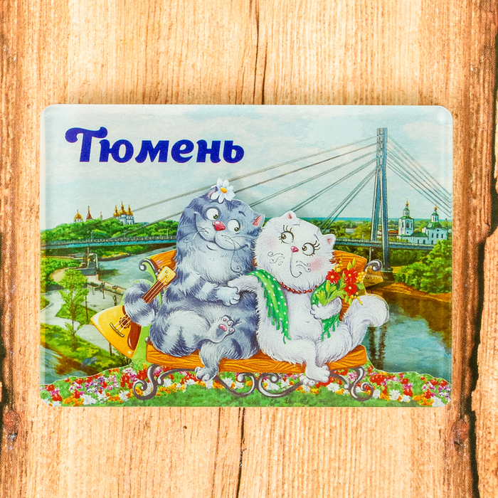 Магнит Тюмень. Мост влюблённых