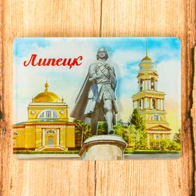 Магнит «Липецк. Памятник Петру I» Ош