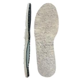 Стельки мягкие ортопедические из натуральной овечьей шерсти Talus 38Т, размер 38