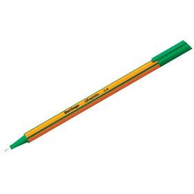 Ручка капиллярная Berlingo Rapido, 0,4 мм, трёхгранная, стержень зелёный Ош