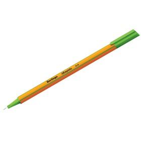 Ручка капиллярная Berlingo Rapido, 0,4 мм, трёхгранная, стержень светло-зелёный Ош