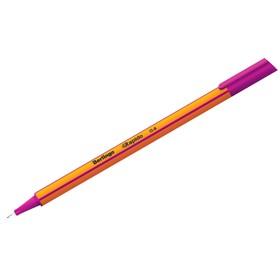 Ручка капиллярная Berlingo Rapido, 0,4 мм, трёхгранная, стержень сиреневый Ош