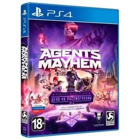 Игра для Sony PlayStation 4 Agents of Mayhem ИЗДАНИЕ ПЕРВОГО ДНЯ. Ош