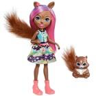 Кукла Enchantimals с питомцем, МИКС
