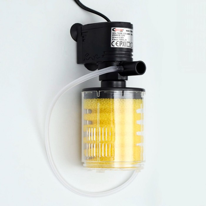 Фильтр камерный Sea Star HX-1180F внутренний, 1000 л/ч, 12 Вт
