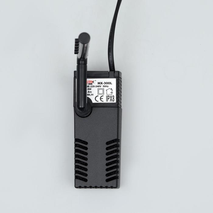 Фильтр Sea Star HX-300L погружной, 300 л/ч, 5 Вт, с дождевальной флейтой