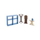 Набор мебели для кукол «Гардеробная»