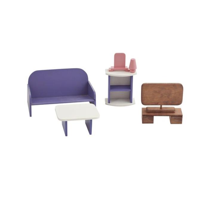 Набор мебели для кукол «Гостиная»