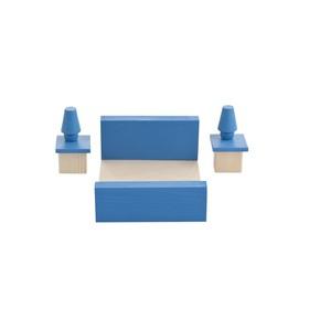Набор мебели для мини-кукол «Спальня»
