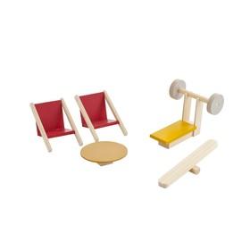 Набор мебели для мини-кукол «Спортивный уголок»