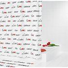 Штора для ванных комнат Amour цветной       УЦЕНКА