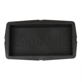 Форма для тротуарной плитки «Кирпич», 25 × 12.5 × 4.2 см, орнамент, Ф11014, 1 шт. Ош