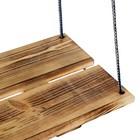 Качели подвесные, деревянные, сиденье 60×22см - Фото 2