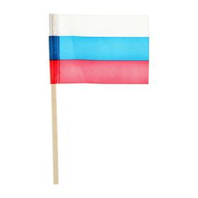 Флажок длина 25 см, 10 x 15 см, цвет триколор Ош
