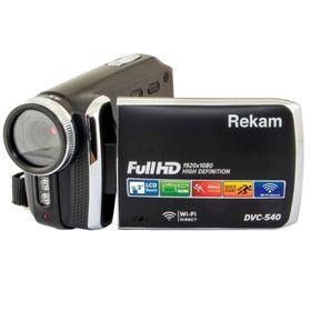 Видеокамера Rekam DVC-540, IS el 3', 1080 p, SD+MMC Flash/Flash, черная Ош