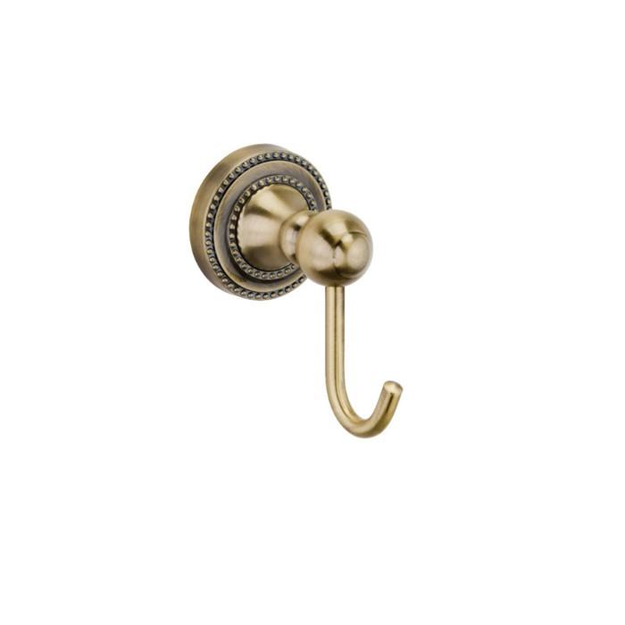 Крючок одинарный Fixsen FX-61105, бронза