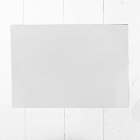 Доска магнитно-маркерная, мягкая, 20 × 30 см, цвет белый Ош