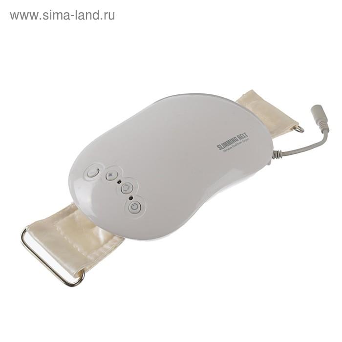 Пояс для похудения LuazON LEM-38, 2 режима, 220 В, белый
