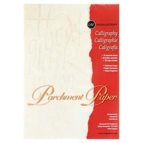 Бумага для каллиграфии А4, пергаментная, 210х297 мм, Manuscript, 36 листов, 90 г/м²