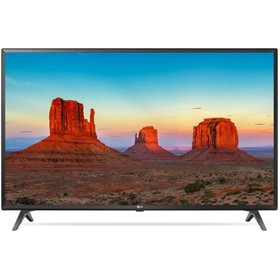 "Телевизор LG 43UK6300PLB, 43"", 3840x2160, DVB-S2/S/C/T2, 3xHDMI, 2xUSB, SmartTV, чёрный"