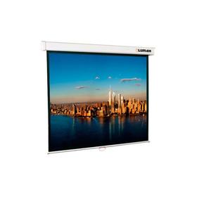 Экран Lumien 203x203 Master Picture LMP-100104 1:1, настенно-потолочный, рулонный