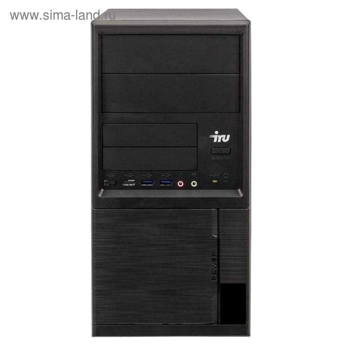 Компьютер IRU Office 224 MT,A4 6300,4Gb,500Gb,HD8370D,Free DOS,черный