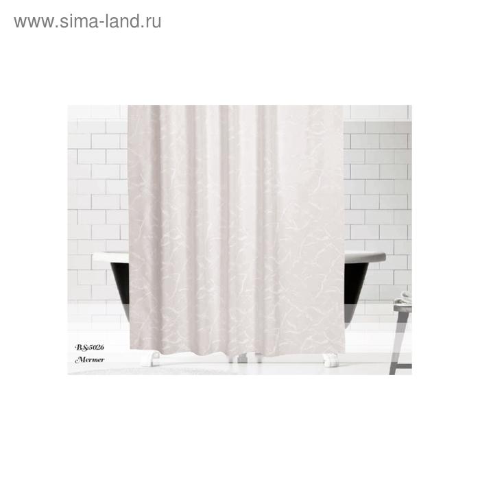 Штора для ванной Drop, размер 180х200 см V8