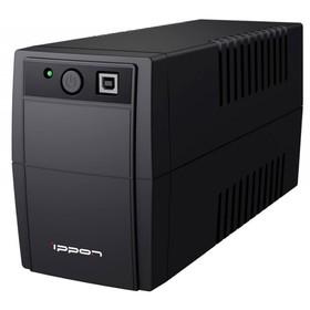 Источник бесперебойного питания Ippon Back Basic 650, 360Вт, 650ВА, черный Ош