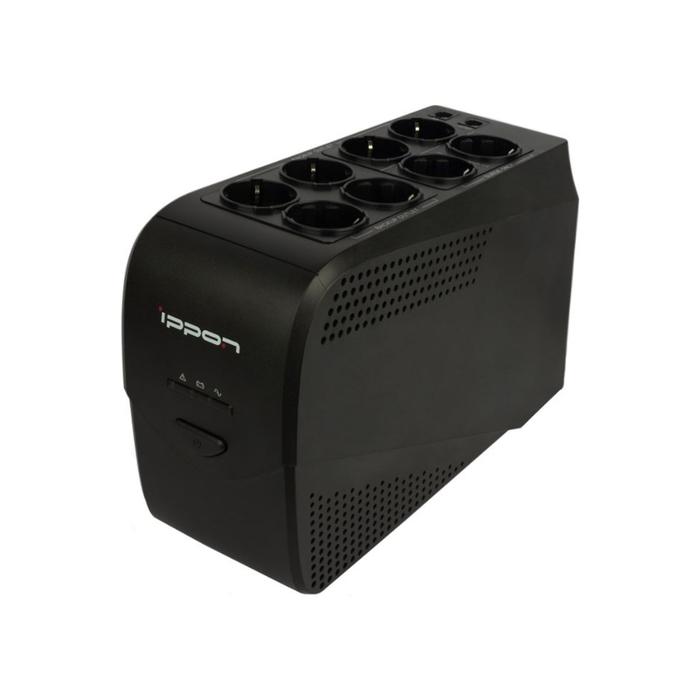 Источник бесперебойного питания Ippon Back Comfo Pro New 1000, 600Вт, 1000ВА, черный