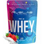 Протеин RusLabNutrition PRO 65 WHEY (800г) (Улучшенная формула) клубника