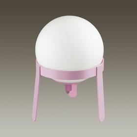 Настольная лампа CHIPO 1x4Вт E14 белый, розовый 16x16x22,5см