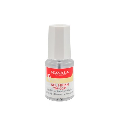 Фиксатор лака Mavala Top Coat Gel Finish, 5 мл