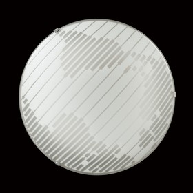 Светильник 48W LED 4000К хром, белый 40x40x7,8см
